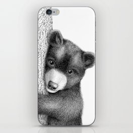 Sleepy bear iPhone Skin