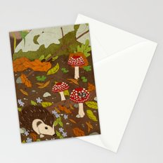 Woodland critters (coloured) Stationery Cards