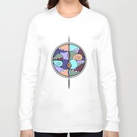 compass Long Sleeve T-shirts featuring Compass by DebS Digs Photo Art