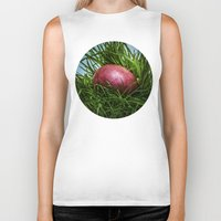 easter Biker Tanks featuring Happy Easter! by digital2real