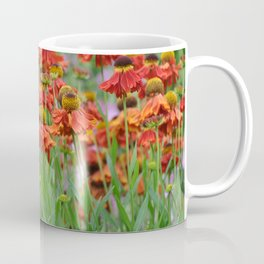 Lovely rudbeckia flower garden Coffee Mug