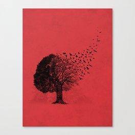 Autumn Birds Canvas Print