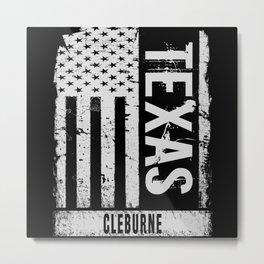 Cleburne Texas Metal Print