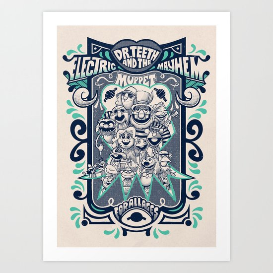 Reunion Tour Art Print