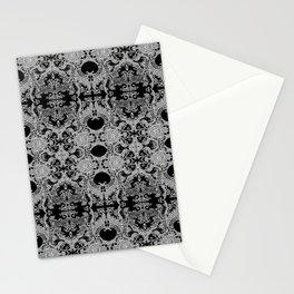 Ornament - Tree of Life - Rebirth - Mehndi Love - Black #4 Stationery Cards