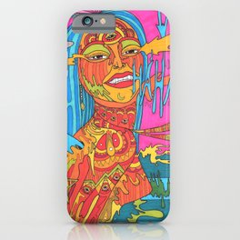 The Beginning of Insanity is The Opening Of The Mind iPhone Case