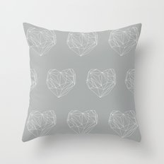 Heart Graphic 6 Throw Pillow
