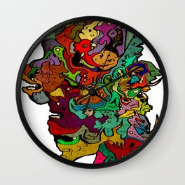 All For One Wall Clock