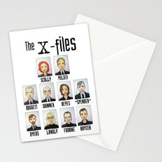 X FILES Stationery Cards