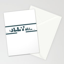 """""""Friends That Sweat Together, Stay Together"""" tee design made perfectly for gym lovers!   Stationery Cards"""