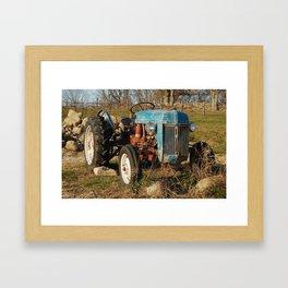 Stone Barns, Truck, NY Framed Art Print