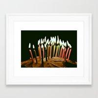 happy birthday Framed Art Prints featuring Happy Birthday by Thomas Eppolito