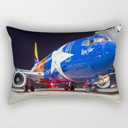 The only star shining in Houston TX Rectangular Pillow
