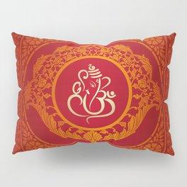 Hindu Elephant Pattern (Shree Ganesh) Pillow Sham