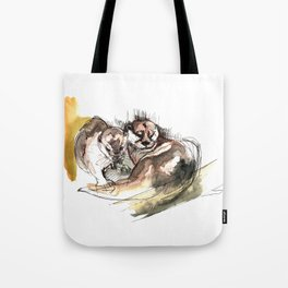 Totem: Asian small-clawed otter (c) 2017 Tote Bag
