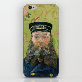 The Postman by Vincent van Gogh iPhone Skin