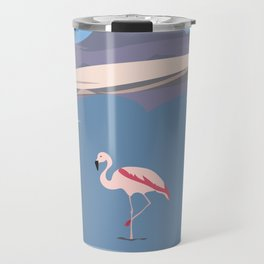 Flamingo in Chile, Atacama Desert Travel Mug