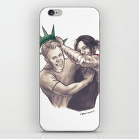 the national iPhone & iPod Skins featuring national treasures by moonriot
