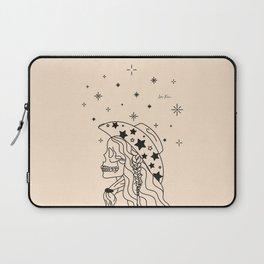 Love or Die Tryin' - Rhinestone Cowgirl Black & Cream Laptop Sleeve