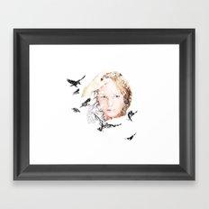 Let slip Framed Art Print
