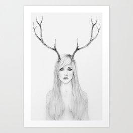 La Belle Degout Art Print