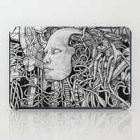 robot iPad Cases featuring Robot by Walid Aziz