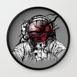 Space Parasitism Wall Clock