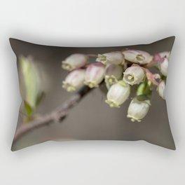 Wild blueberry flowers Rectangular Pillow