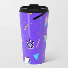 80's Style pattern Travel Mug