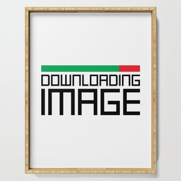 Downloading Image Serving Tray