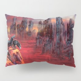 Wolves of Future Past landscape Pillow Sham