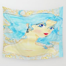 Shi Shi by the Sea Wall Tapestry