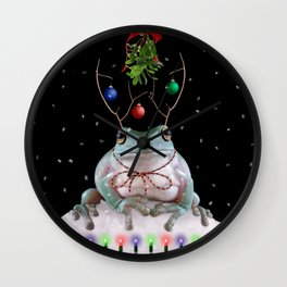 MistleToad Wall Clock
