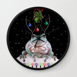 MistleToad Wall Clock