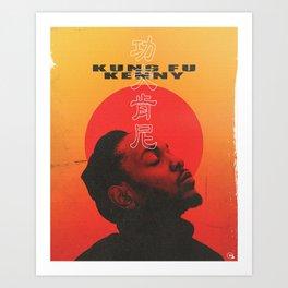 Kung Fu Kenny Movie Poster Art Print