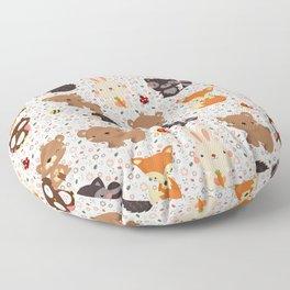 Woodland Nursery Pattern Floor Pillow
