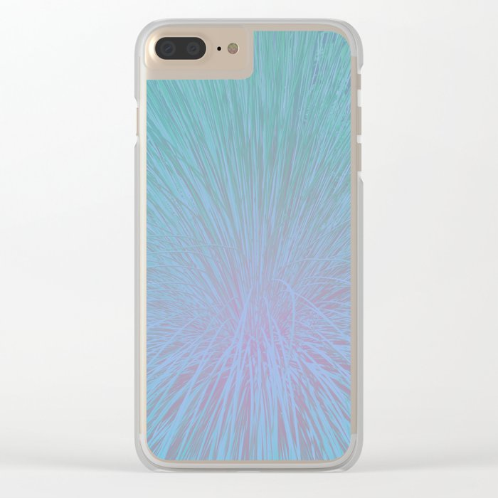Palm Springs Clear iPhone Case