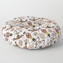 Nutcracker white Floor Pillow