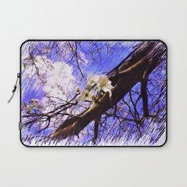 The Lovely Flowering Pear Tree Laptop Sleeve