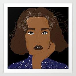 Moon Eyes Art Print
