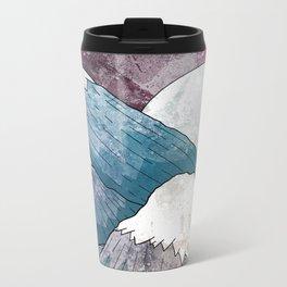 A cold river canyon Metal Travel Mug