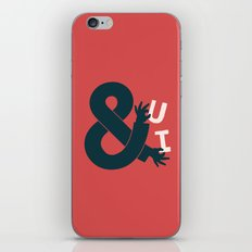 You and I, Ampersand iPhone & iPod Skin