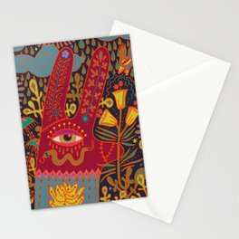 Cyclops Rabbit Stationery Cards