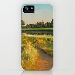 Cape Cod Eastham Eventide Number Two iPhone Case
