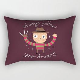 Always Follow Your Dreams Rectangular Pillow