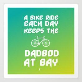 A Bike Ride Each Day Art Print