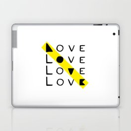 LOVE yourself - others - all animals - our planet Laptop & iPad Skin
