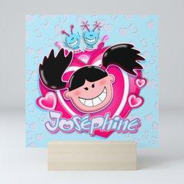 Josephine Poster Heart Mini Art Print