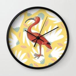 Reject Flamingo Wall Clock