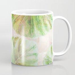 Pearlescent mosaic and plants Coffee Mug